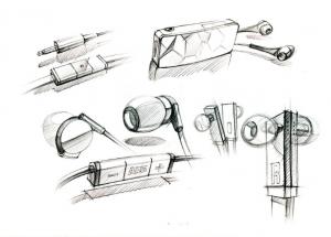 Bocetos para el diseño de producto I