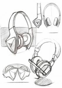 Bocetos para el diseño de producto II