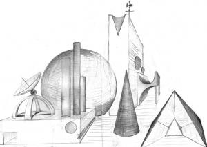 Dibujo: perspectiva y técnicas