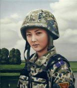 Este-oeste (Camouflage paintings), Alberto Ibáñez