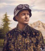 Paraíso perdido I (Camouflage paintings), Alberto Ibáñez